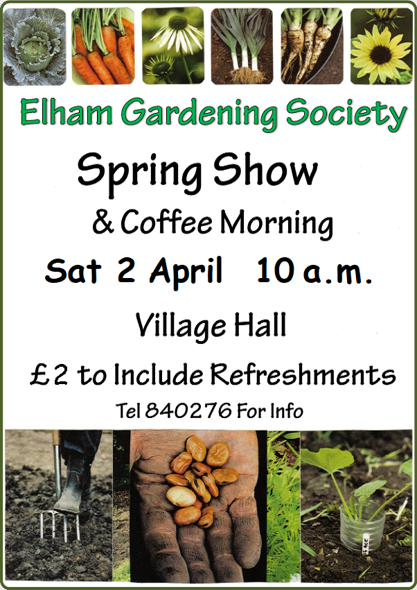 Spring Show and Coffee Morning