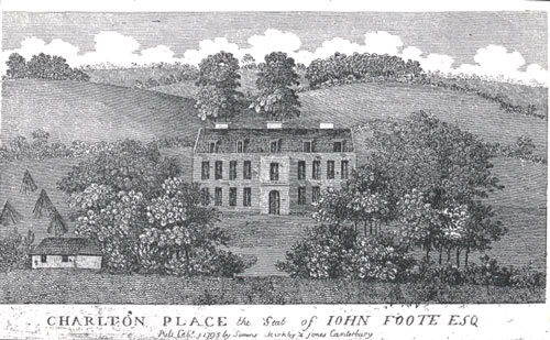 Charlton Park image from 1795